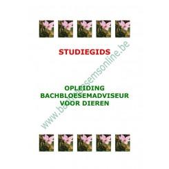 Studiegids Opleiding Bachbloesemadviseur voor Dieren