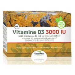 Vegan Vit D3 3000IU+ K2