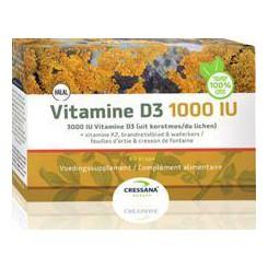 Vegan Vit D3 1000IU + K2 - 60 cap.