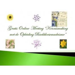Online Meeting Kennismaken met de Opleiding Bachbloesemadviseur
